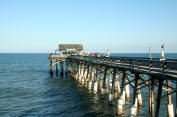 Pier at Cocoa Beach, Florida