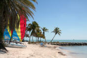 Beach at Key West, Florida
