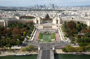 Trocadero Gardens, Paris, France