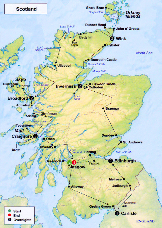 Scotland 2010 printable map is available if you wish a paper copy to