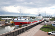 Elbeborg, in Welland Canal Lock 3, headed to Belgium